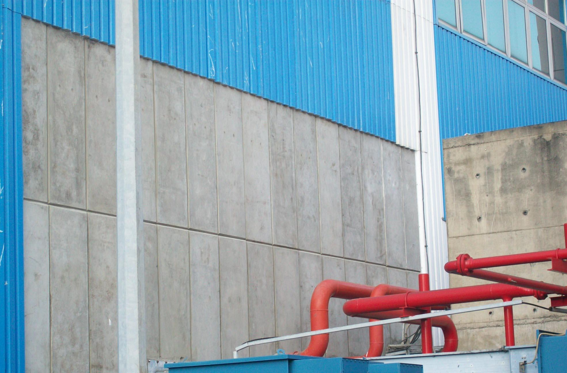 Supply Facade untuk proyek di PAITON