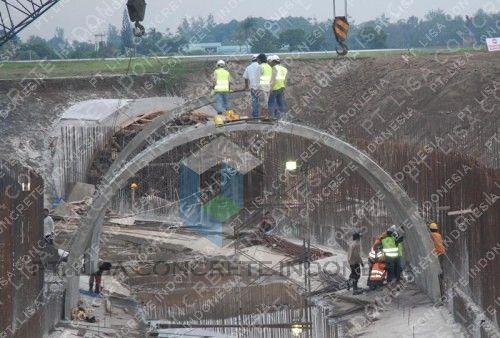 Precast Arch Culver Kali Kuning