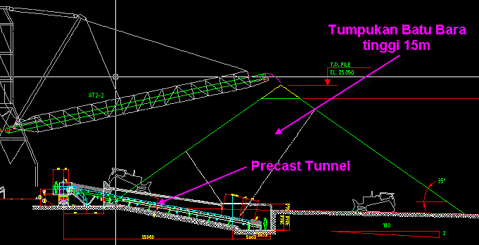 Precast Tunnel Bontang