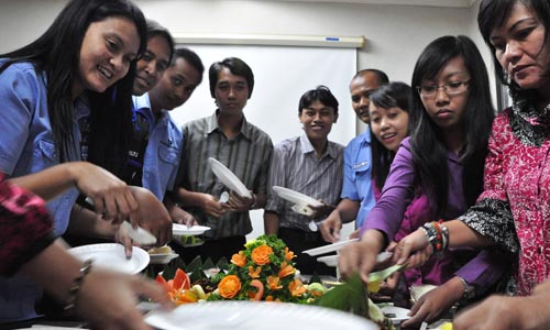 Perayaan hari ulang tahun PT. Lisa Concrete Indonesia