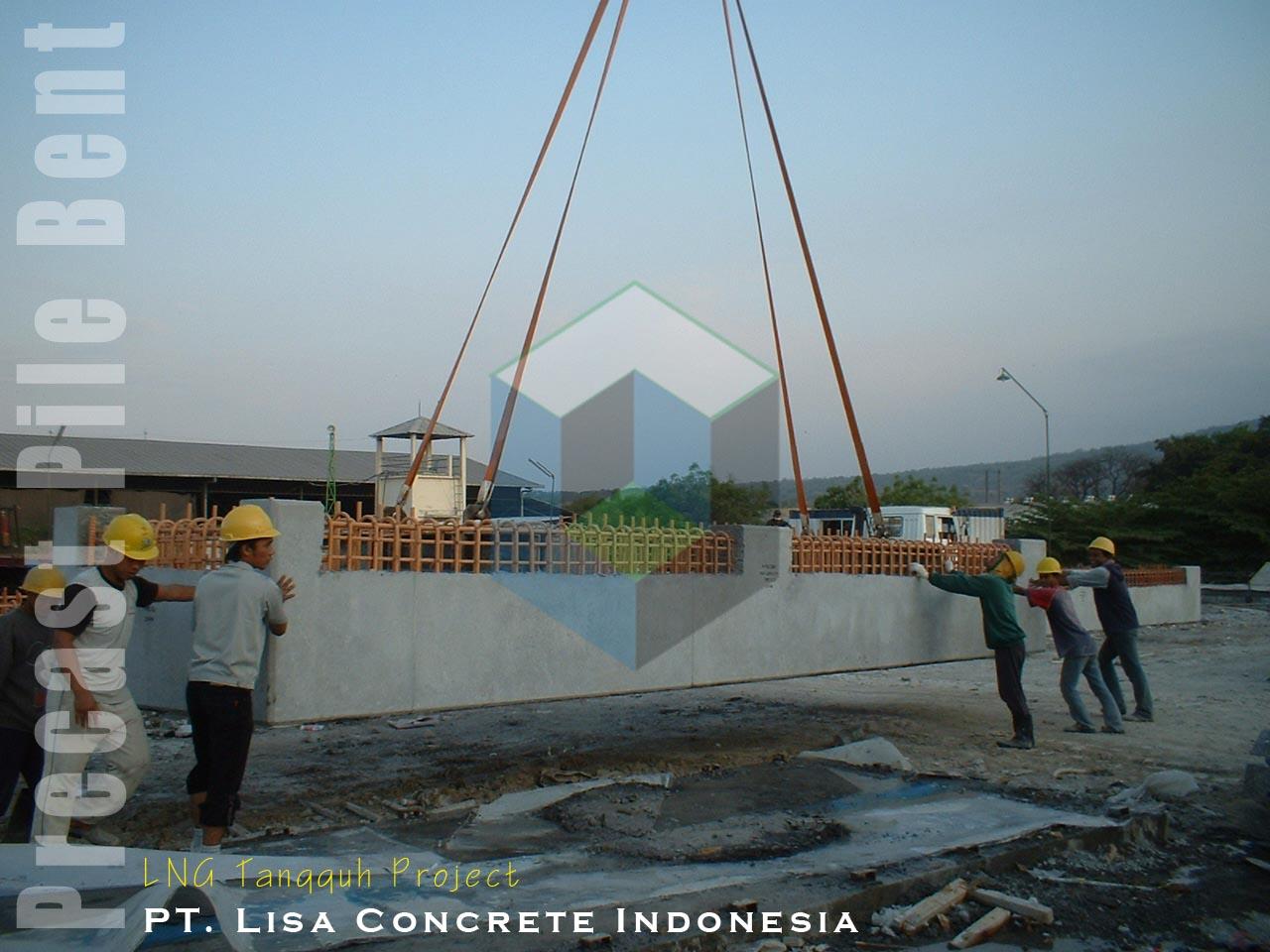 Precast Pile Bent, Proyek LNG Tangguh